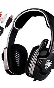 Sades SA922 Hoofdtelefoons (hoofdband)ForMediaspeler/tablet / ComputerWithmet microfoon / DJ / Volume Controle / FM Radio / Gaming /