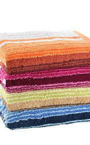 "1 PC Full Cotton Thickening Bath Towel 27"" by 55"" Super Soft Stripe Pattern"