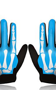 Guantes Ciclismo/Bicicleta Todo Dedos completos / Guantes sin dedosA prueba de resbalones / A prueba de viento / Listo para vestir /