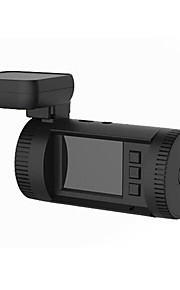 mini 0826 1.5 tommer 1296p HD LCD-skærm gps bil DVR videokamera - sort