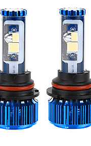 Liancheng®  120W 10000Lm 9~32V High Brightness CREE COB LED Headlight Kit-9007/HB5 6k 8k for Car,Off-road,UTV,ATV