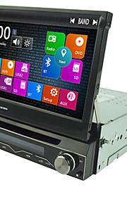 1 din 7 '' Car DVD-speler met gps navi radio in het dashboard ingebouwde 3g wifi bt swc usb / sd
