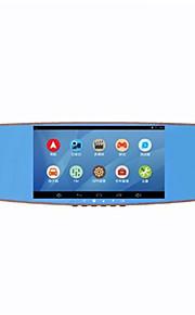 intelligente navigator / dubbele opname / 7 inch scherm voor en na de opname / voertuig data recorder