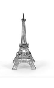 Rompecabezas Puzzles 3D Bloques de construcción Juguetes de bricolaje Torre 1 Metal Plata juguete del juego