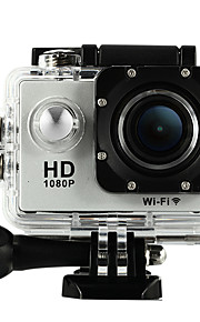 Other W8 Accesorios Kit / Cámara deporte 1.5 12MP / 8MP / 5MP 1920 x 1080 240 fps 20x ± 2 EV CMOS 4 GB H.264Inglés / Alemán / Italiano /