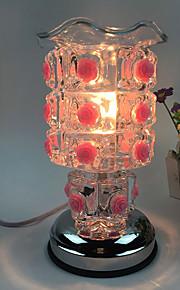 1pc tilsluttet el roser sød essens olielampe aing slags dekorerede gave bordlampe trykfølsom
