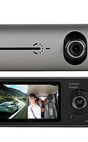 C14 kørsel optager køretøjets ydre dobbelt linse HD 1080p vidvinkel spor undersøgelse integreret maskine