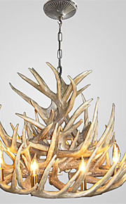 vintage Antler chandelier lighting Industrial Fixture Country 9-Lights for Living Room Dining room Easy Installation