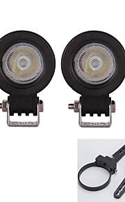 """a-pair 3 """"montagebeugels + 10W 2pc geleid lichtbalk atv suv vrachtwagen rijden lamp"""