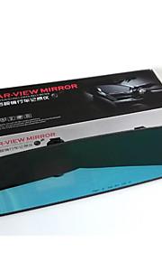 automotive bil bakspejl fartskriver enkelt linse auto load loop videoskærm 2.4