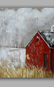 Hånd-malede Abstrakt Landskab Oliemalerier,Moderne Et Panel Canvas Hang-Painted Oliemaleri For Hjem Dekoration