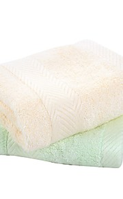 """1 PC Bamboo Fiber Wash Towel 13"""" by 13"""" Super Soft Solid"""
