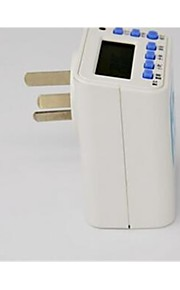 Poor color Con filo Others Electronic cycle timer switch socket Bianco / Blu