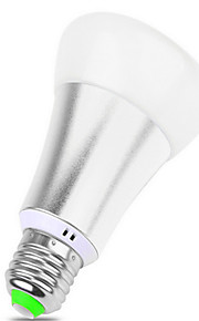 10 E26/E27 LED 스마트 전구 BR 12 SMD 5050 900 lm RGB 밝기 조절 / 리모컨 작동 / 장식 AC 85-265 V 1개