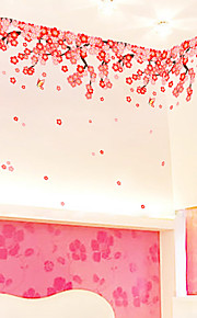 Dyr / Botanisk / Still Life Wall Stickers Fly vægklistermærker Dekorative Mur Klistermærker,PVC Materiale Kan fjernes / Kan Omposisjoneres