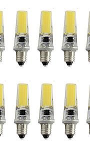 9 E11 Spot LED T 1 COB 350 lm Blanc Chaud / Blanc Froid Décorative AC 100-240 V 10 pièces