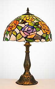 40W Rustikal/Ländlich / Tiffany Schreibtischlampen , Feature für Bogen , mit Gemäldt Benutzen Reihe Schalter