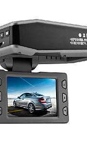 Fabriek-OEM 2,7 inch Allwinner / novatek TF-kaart Zwart Auto Camera