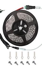 LED lys stripe kit -3528 -300 leds inkluderer 3a strømforsyning (36 watt) og dimmer - ledet tape light-kontakt