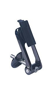 Велоспорт Крепление для велосипеда Велоспорт Сотовый телефон Черный пластик 1-/