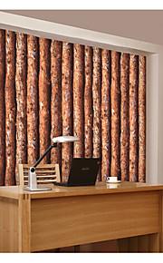 Décoration artistique / 3D / Bois Fond d'écran pour la maison Classique Revêtement , Tissu Non-Tissé Matériel adhésif requis fond d'écran