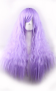High Temperature Wire Cos Color Gradient Corn Hot Harajuku Long Curly Hair Wig