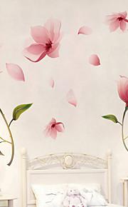 Botanica / Romanticismo / Natura morta Adesivi murali Adesivi aereo da parete / Adesivi 3D da parete Adesivi decorativi da parete,PVC