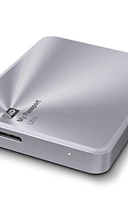 Western Digital mi pasaporte de ultra 3tb de metal de 2 TB 1 TB portátil de disco duro externo USB 3.0