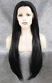 IMSTYLE 30 Top Grade Long Hair Smooth Wigs Lace Front Synthetic Natural Looking