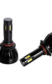 g6 geleid 96W 360 graden 4 zijden omzetting leidde koplampen kit h1 h3 h7 9005 9006 880