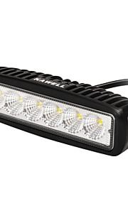kawell 18w 6.2 90 graden leidde atv / jeep / boot / SUV / truck / auto / ATV licht off-road lichtbalk