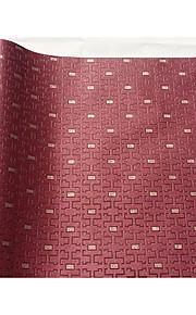 Damas / Rayure / Décoration artistique / Solide / 3D Fond d'écran pour la maison Classique Revêtement , Tissu Non-Tissé Matérieladhésif