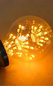 2 E26/E27 LED 글로브 전구 G80 49 딥 LED 800 lm 옐로 장식 AC 220-240 V 1개