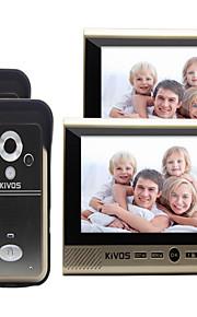 30 120 CMOS deurbelsysteem Draadloos Meergezins video deurbel