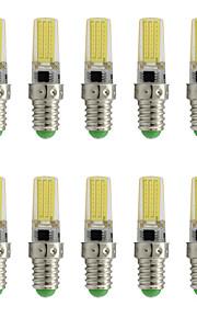 9 E14 Spot LED T 1 COB 350 lm Blanc Chaud / Blanc Froid Décorative AC 100-240 V 10 pièces