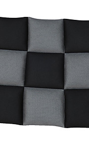 autoyouth åndbar mesh stof sædehynder universelle fit dække de fleste bilsæder sort og grå bil styling