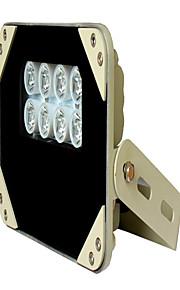 monitoring / IR LED lampje gaat branden / security monitoring van speciale infrarood licht IP65