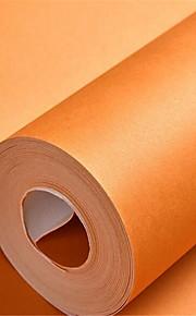 Solide Fond d'écran pour la maison Luxe Revêtement , Tissu Non-Tissé Matériel adhésif requis fond d'écran , Chambre Wallcovering
