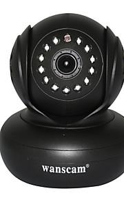 wanscam® trådløs wifi ip sikkerhed kamera med pan titel og p2p gratis understøttende 32g tif-kort