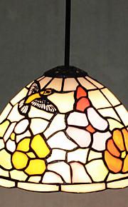 25W מנורות תלויות ,  מודרני / חדיש / Tiffany צביעה מאפיין for סגנון קטן מתכת חדר שינה / מטבח