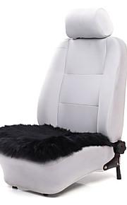 autoyouth 1stk luksus sædehynder uld sort bil sædebetræk fit alle mærke køretøjer boligtilbehør