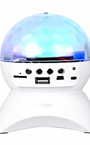 u schijf en TF-kaart kan worden ingebracht leidde draadloze bluetooth mini kleurrijke verlichting car audio