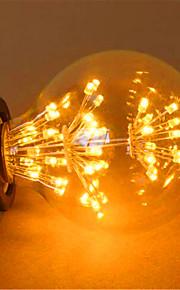 2 E26/E27 LED 글로브 전구 G125 49 딥 LED 800 lm 옐로 장식 AC 220-240 V 1개