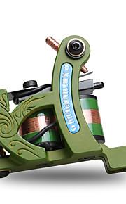 Coil Tattoo Machine Cast Iron Shading Dual Coils 10 Wraps 6-8 4700