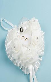 Wedding Supplies Heart-Shaped Ring Pillow Western-Style Ring Pillow European Bride Wedding Ring Box