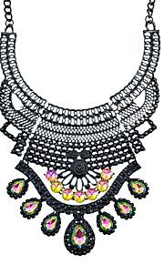 Modische Halsketten Strass Kragen Schmuck Halloween / Party / Alltag / Normal Modisch Aleación Schwarz 1 Stück Geschenk