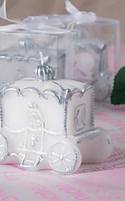 Thème classique / Thème de conte de fées Favors Candle-1 Piece Piece / Set Bougies Non personnalisé Blanc