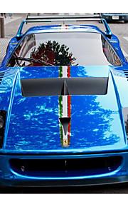 de auto van de hele auto lichaamsversiering galvaniseren van de ingevoerde materialen voor blauwe sport film pasta maken