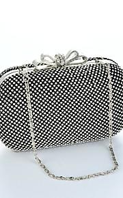 Women Rhinestone Blingbling Shining Formal / Casual / Event/Party / Wedding Evening Bag