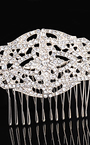 Women's Rhinestone / Alloy Headpiece-Wedding / Special Occasion / Casual / Outdoor Hair Combs 1 Piece